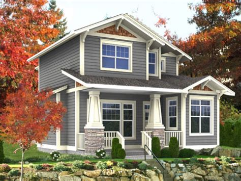 craftsman style narrow lot house plans craftsman style