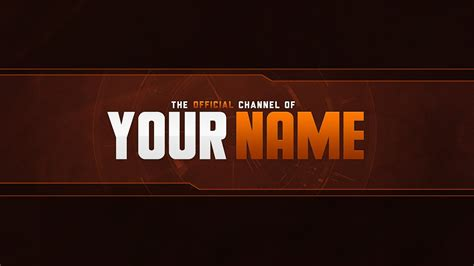 Youtube Banner Template Psd Listmachinepro Com Banner Template Psd