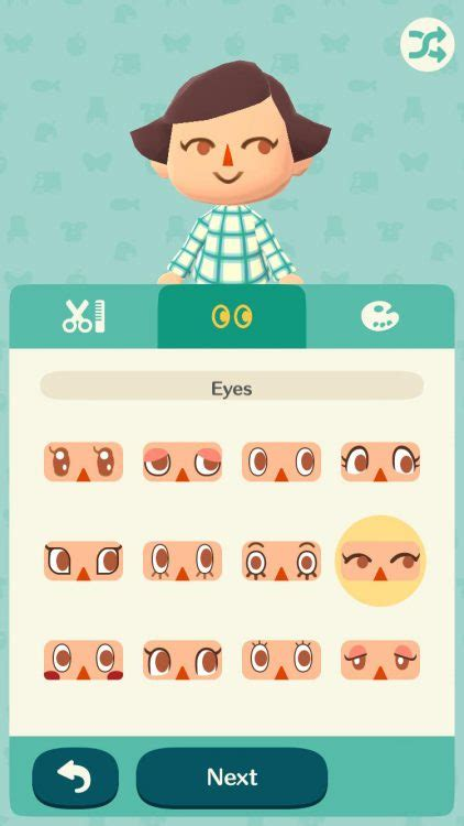 Hairstyles Animal Crossing Pocket C   animal crossing pocket c all the faces and