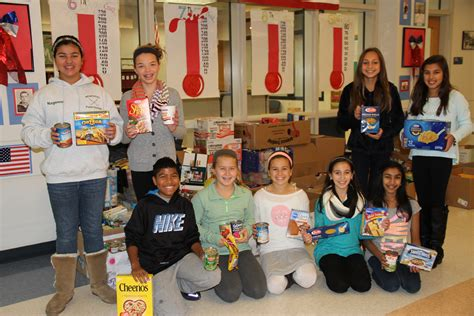 Middlebury Food Pantry by Middle Schoolers Donate Big To Middlebury Food Bank