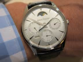 Jaeger lecoultre master ultra thin perpetual calendar hands on