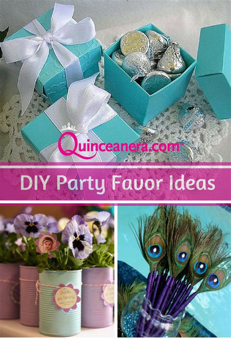 diy party favor ideas quinceanera on a budget