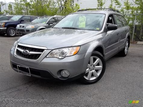 2008 subaru outback wagon 2008 subaru outback 2 5i wagon in quartz silver metallic