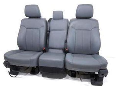 aftermarket truck seats f350 replacement ford duty f250 f 350 vinyl work seats