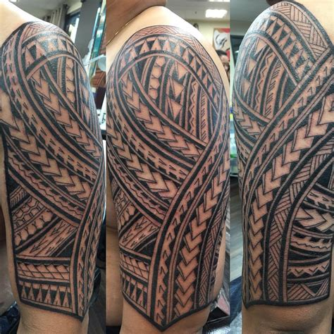 polynesian tattoo sleeve designs 21 polynesian designs ideas design trends