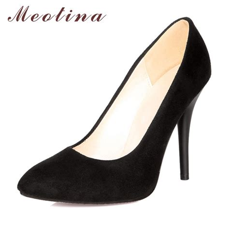 high heel shoes pumps meotina high heels shoes pointed toe high heels