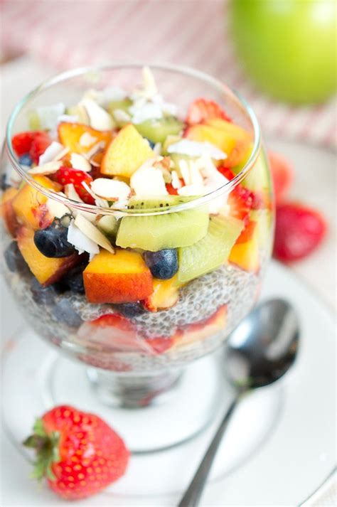 fruit and chia fruit chia pudding parfait delicious meets healthy