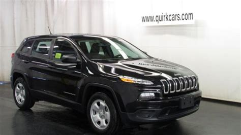 2016 jeep cherokee sport black on black new 2016 jeep cherokee quirk chrysler jeep near boston ma