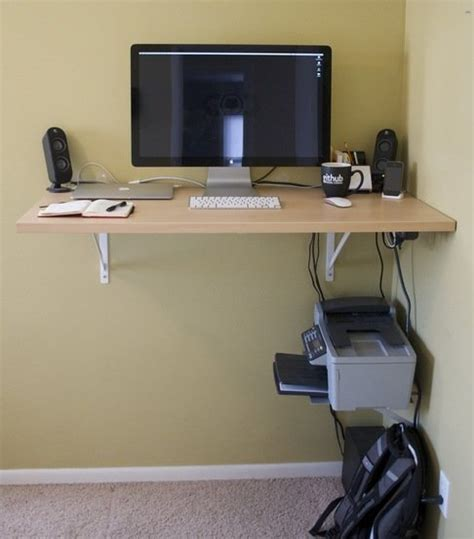 space saving standing desk 6 diy standing desks bob vila