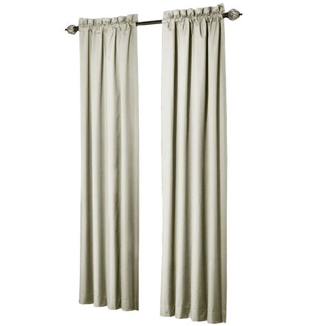 home depot curtain panels sun zero brighton ivory thermal lined curtain panel price