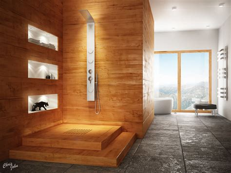 wooden bathroom 27 nice ideas and pictures of natural stone bathroom wall