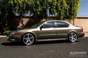 Infiniti I35 2002 2002 Infiniti I35 With 20 Quot Vossen Cv3 R In Silver Wheels