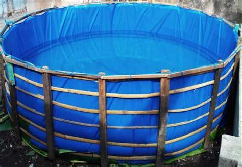 Jual Kolam Terpal Lele Depok jual kolam terpal ikan bundar di lapak aicha shop wiwodendra