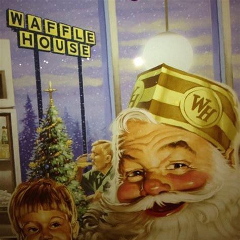 Merry Waffle House Christmas A R T D E S I G N Pinterest