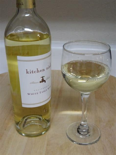 Kitchen Sink Wine Kitchen Sink White Pour Wine