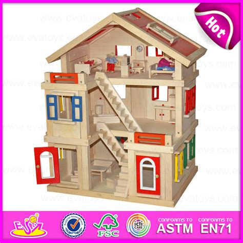wooden dolls houses for children china 2015 happy family doll house for kids diy toy wooden doll house toy for