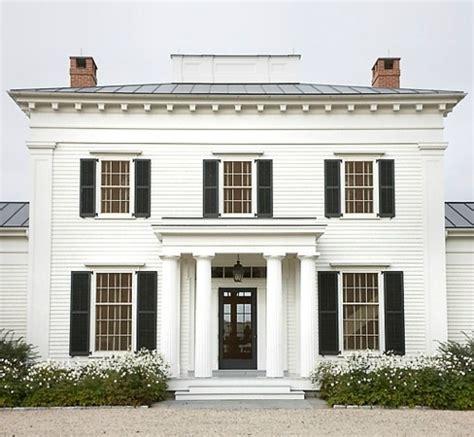 White House Black Shutters Humble Abode Pinterest