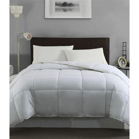 overstock com down comforters down alternative microfiber comforter