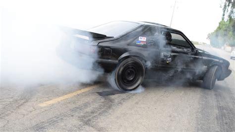 mustang burnouts 89 ford mustang lx fox burnout