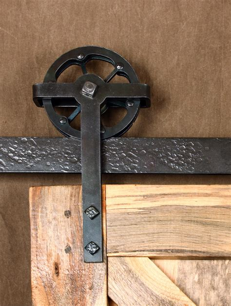 Barn Door Wheels Barn Door Tracks Ponderosa Forge Ironworks