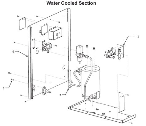 supply section water supply section 28 images scotsman cme456 contour
