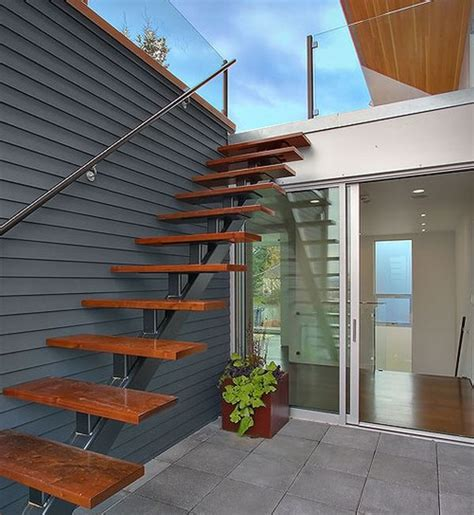 keystone custom homes offers easy steps to building a new suspended style 32 floating staircase ideas for the