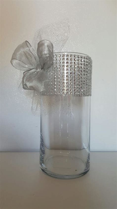 Wedding Dress Vase by 25 Best Ideas About Bling Wedding Centerpieces On