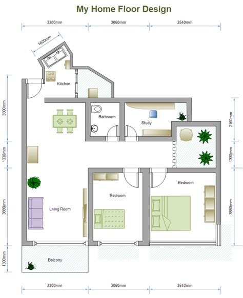visio house plan template visio home plan template free
