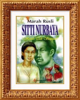 Sitti Nurbaya Oleh Mh Rusli nisa looking 2012