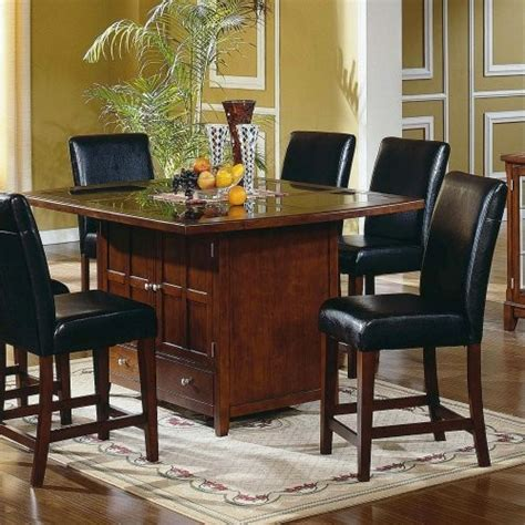 granite top dining table steve silver serena granite top 5 piece dining table set