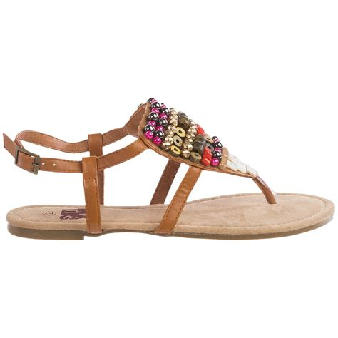 muk luks sandals muk luks harlow beaded sandals for save 83