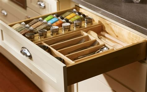 Kitchen Cabinet Spice Organizers by Kitchen Redesign Tips Creative Organization Ideas