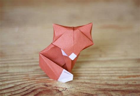 3d Origami Fox - swissmiss origami fox