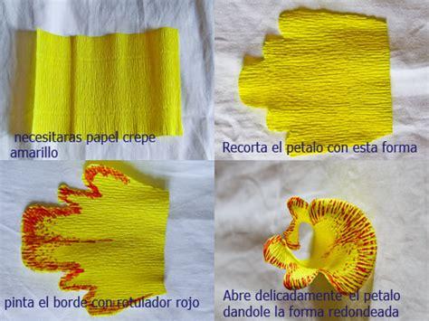 orquidea de papel crepe todo con papel flores con papel crep 233