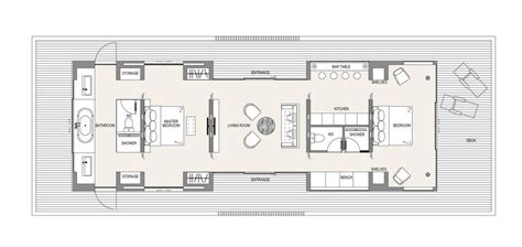 floating home floor plans floating house floor plan 1 e architect