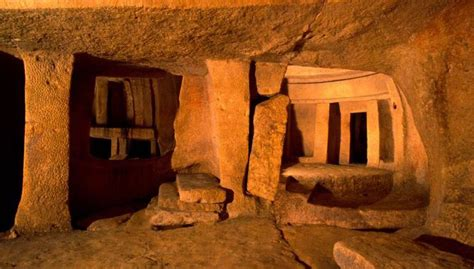 Pyramid Lamp by Hypogeum Of Hal Saflieni The Ancient Underground Temple