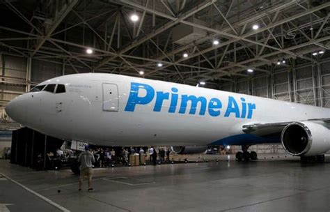 amazon prime air new fleet of amazon prime air cargo planes unveiled video