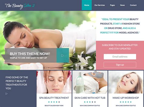 Bridal Websites Usa by 40 Best Spa Hair Salon Themes 2016