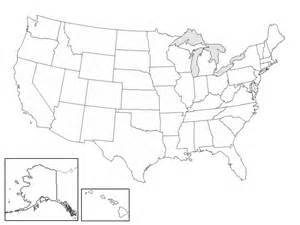 blank us map to color mapa pol 237 tico de los estados unidos de am 233 rica thinglink
