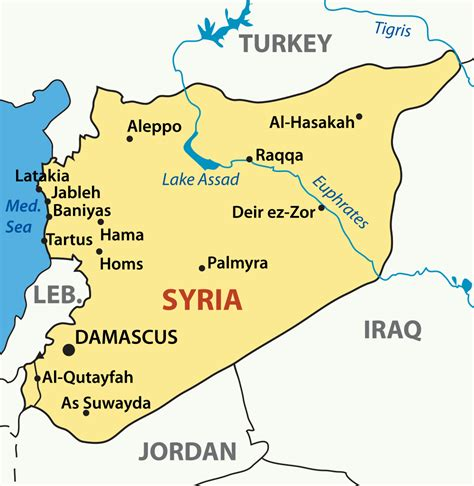 syria map syria map with cities blank outline map of syria