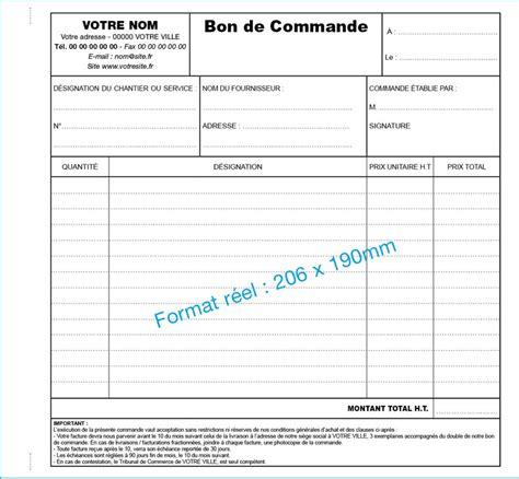 Modèle Bon De Commande Fournisseur