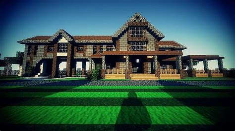Large Master Bedroom Floor Plans Country Home Ranch House And Farm Minecraft Building Inc