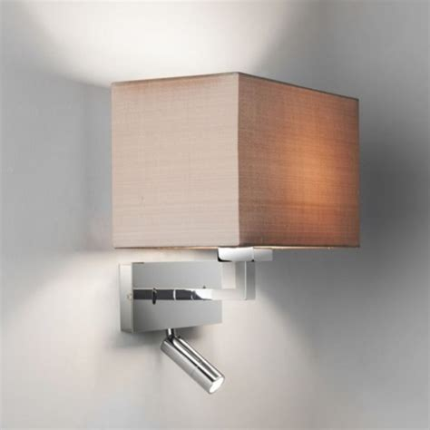 Bedroom Wall Lights Uk Contemporary Design Hotel Style Wall Light Integral Led Book Light