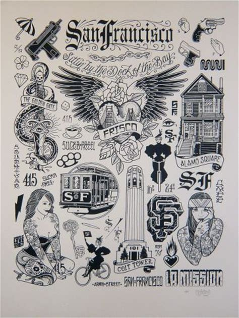 san francisco tattoo designs 25 best ideas about san francisco on