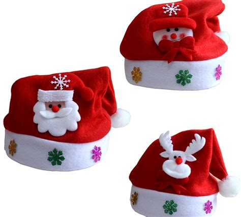 new year christmas cap for children kids christmas hats