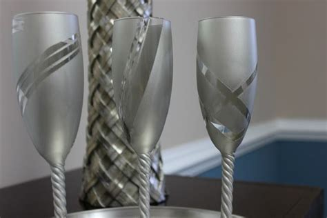 Wedding Glasses 17 17 best images about chagne flutes diy on