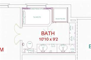 How To Design A Bathroom Floor Plan by Bat Remodeling Floorplans Over 5000 House Plans