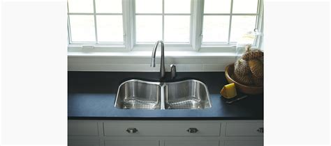 kohler staccato stainless steel kitchen sink standard plumbing supply product kohler k 3899 na