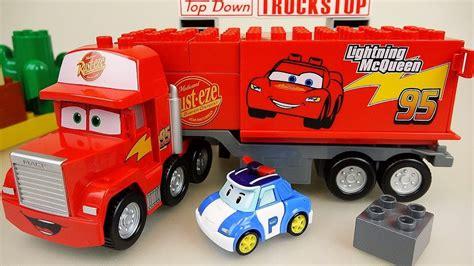 lego cars lego cars truck block car and robocar poli car toys