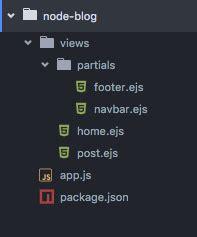 templating node and express apps with ejs coligo